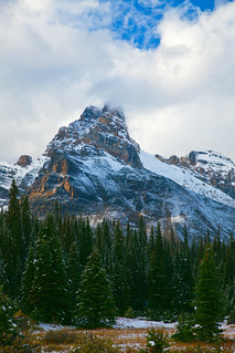 Cathedral Mountain in Yoho National Park | by Lee Rentz