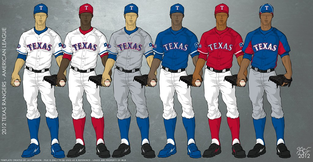 Texas Rangers 2012 Uniforms | Uniforms to be worn for the ...