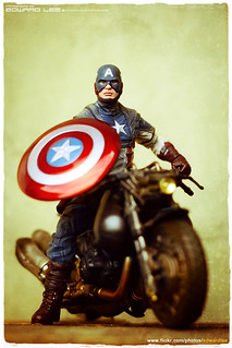 Captain America & Hakaider's Bike | by EdwardLee's collection