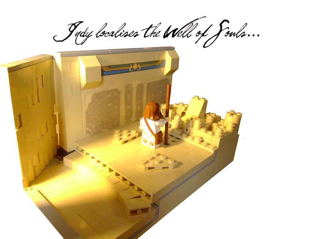Lego Indiana Jones Indy Localises The Well Of Souls Flickr