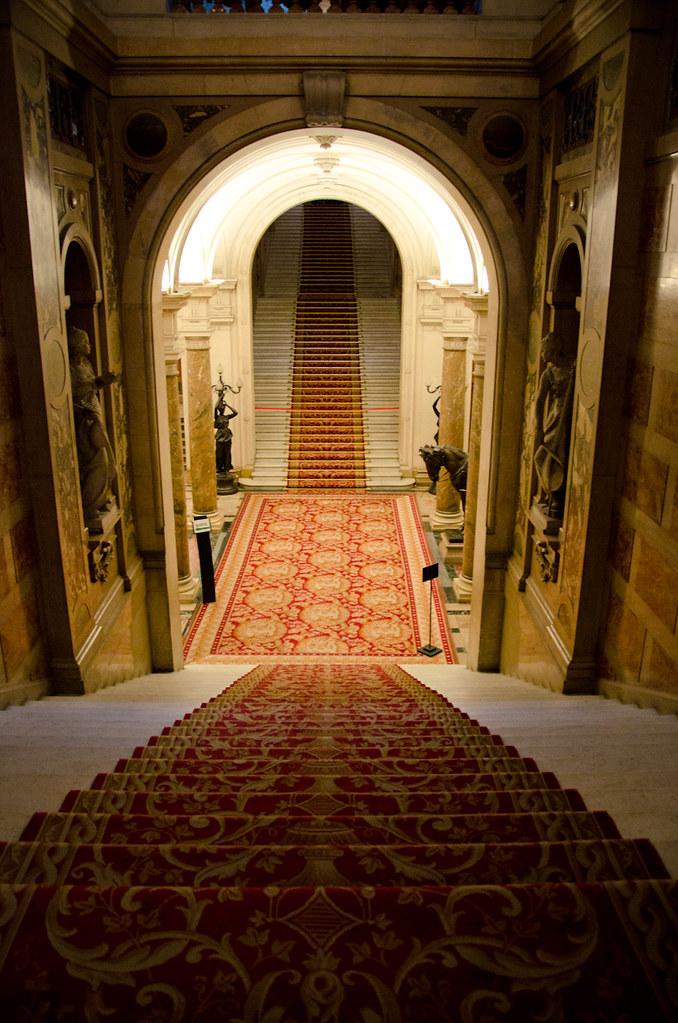 l 39 escalier d 39 honneur l 39 h tel de ville de paris paris 4 m flickr. Black Bedroom Furniture Sets. Home Design Ideas