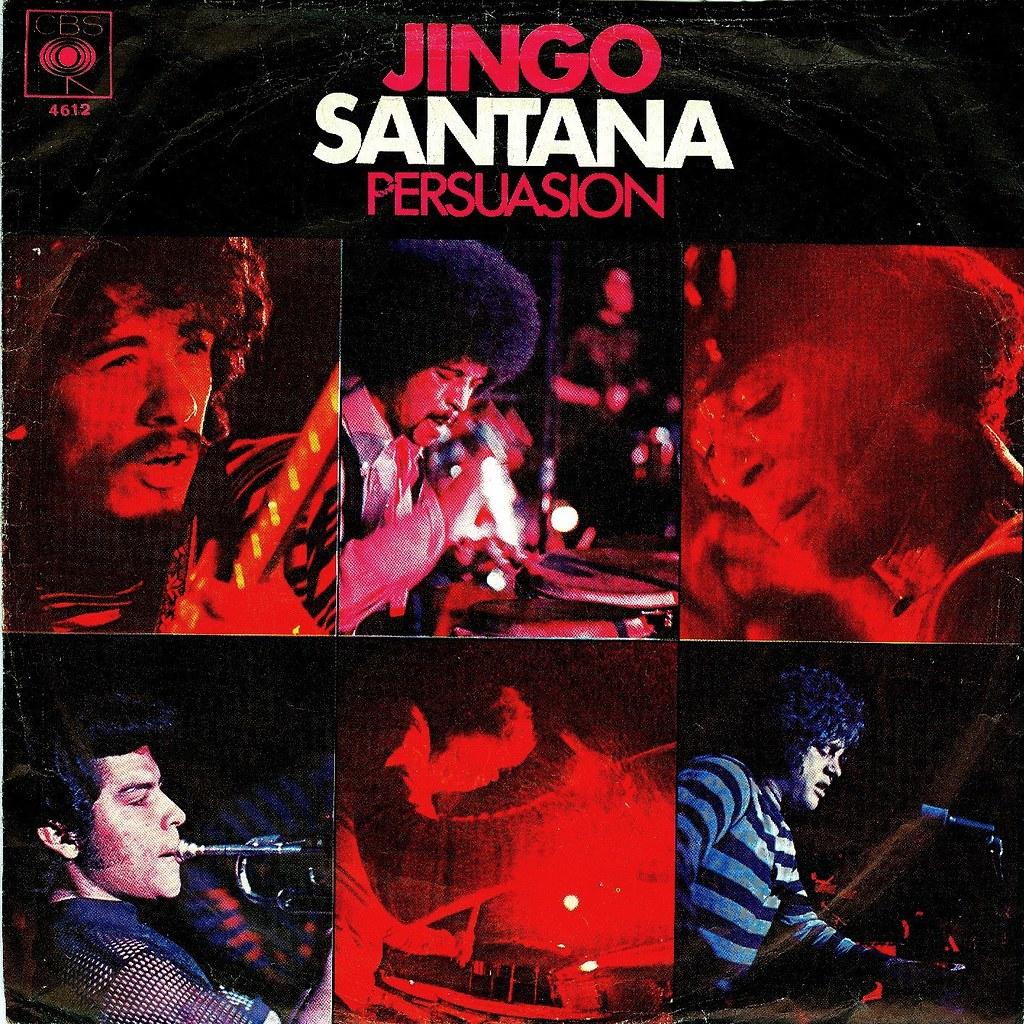 La Times >> 1 - Santana - Jingo - black - D - 1969 | Original a hit ...