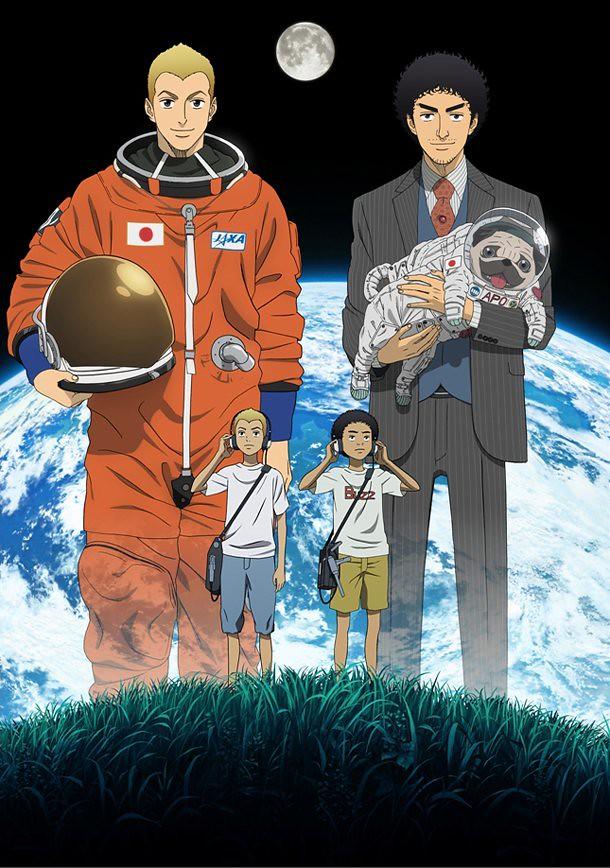 120202(2) - 新動畫《宇宙兄弟》將從4/1開播!輕小說家「丈月城」的出道作《Campione弒神者》將推出電視動畫版!