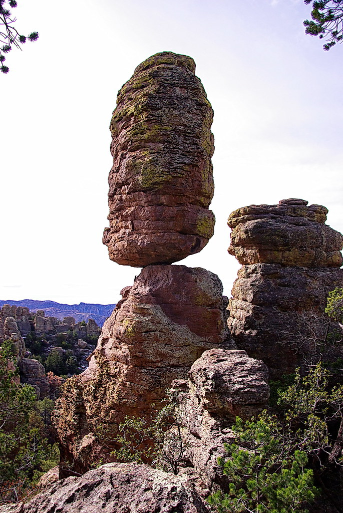 Pinnacle Rock - Heart of Rocks Trail - Chiricahua National ...
