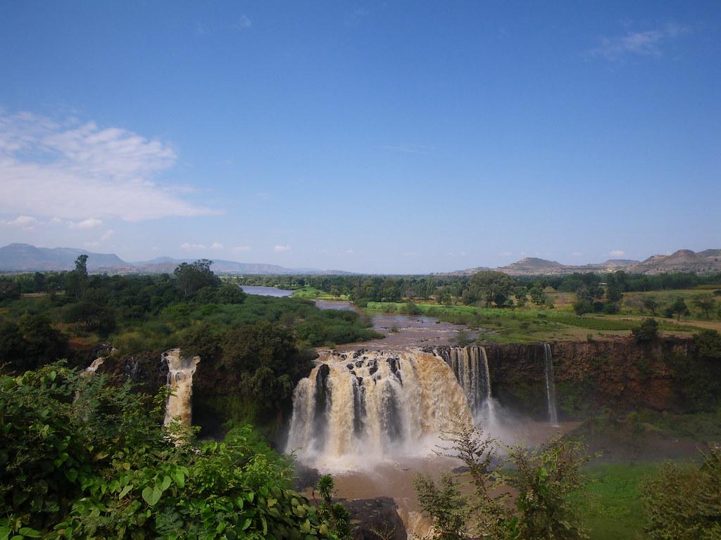 Blue Nile Falls Map