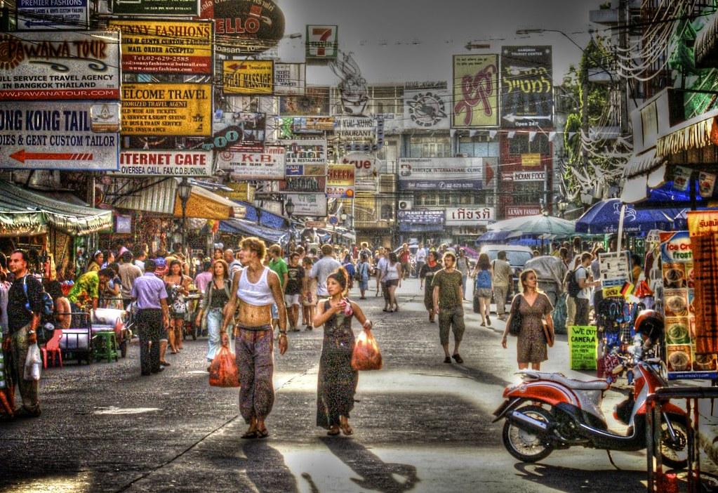 Khao San Road, Bangkok Thailand  IV2K  Flickr