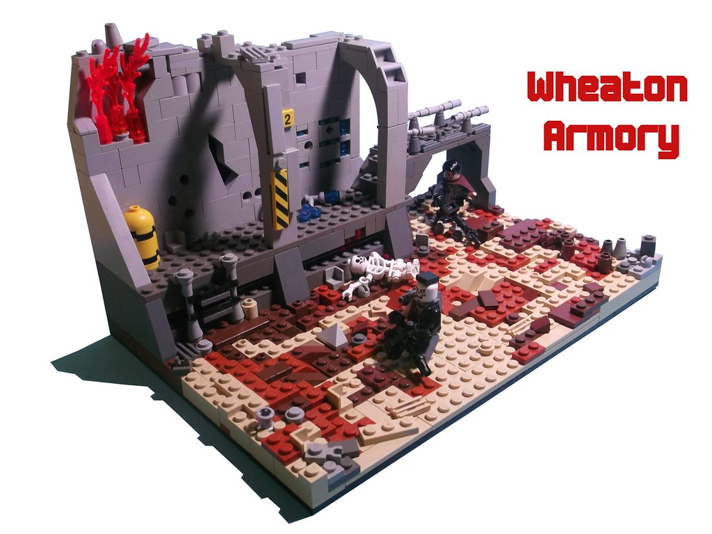 Lego Wheaton Armory Fallout 3 1 This Is An Entry