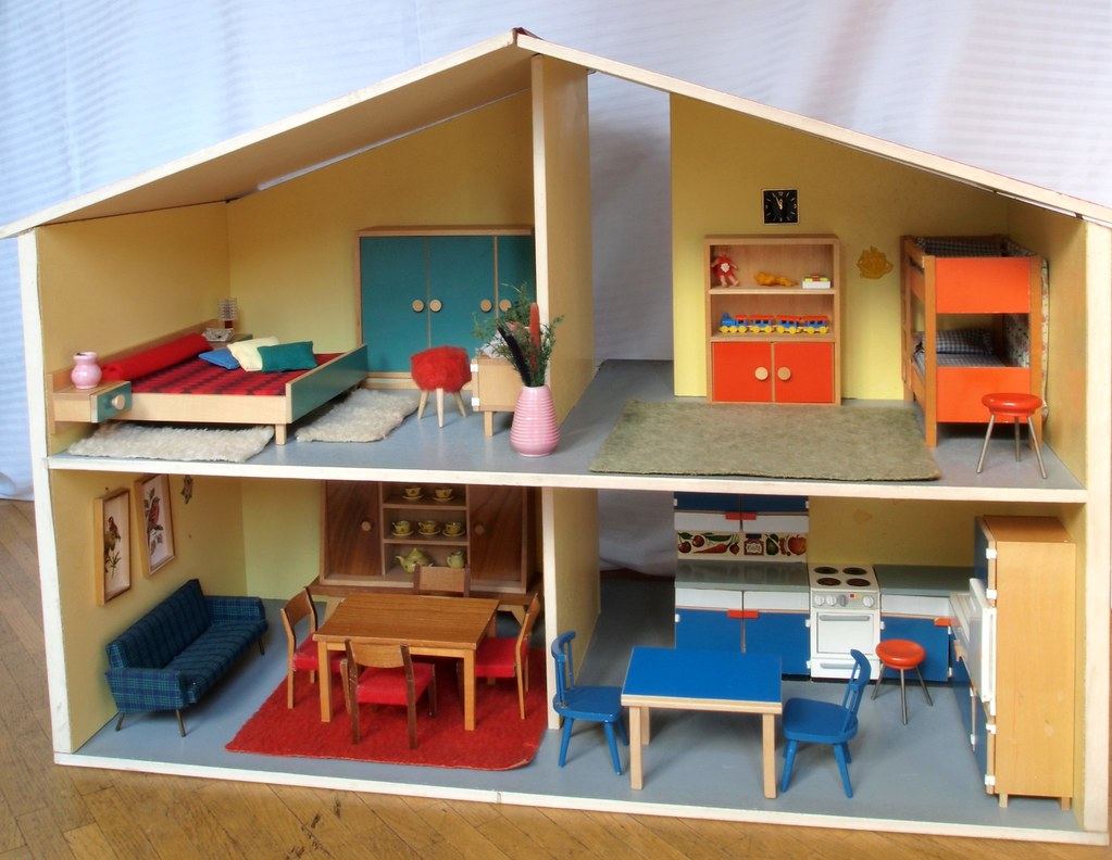 1966 bodo hennig puppenhaus flickr. Black Bedroom Furniture Sets. Home Design Ideas