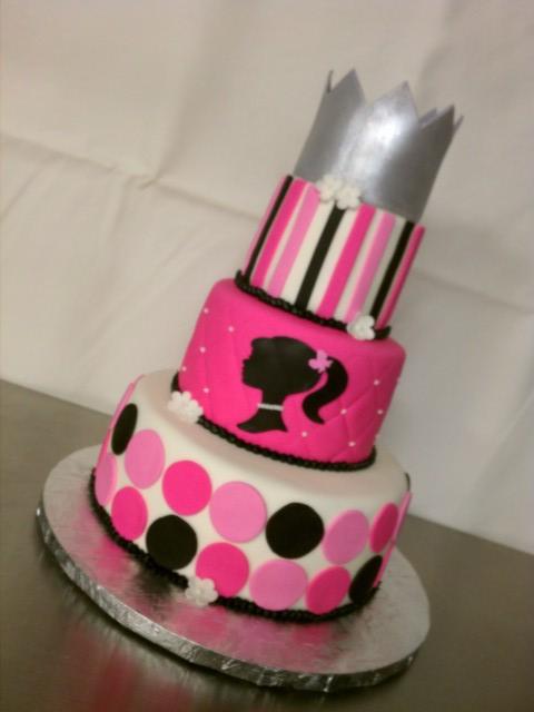 Barbie Birthday Cake Clarissa Lopez Flickr