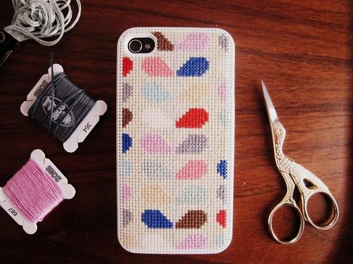Orla kiely inspired iphone case flickr photo sharing - Manualidades originales y faciles ...