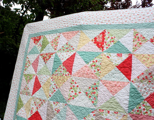 strawberry fields quilt | by amy smart