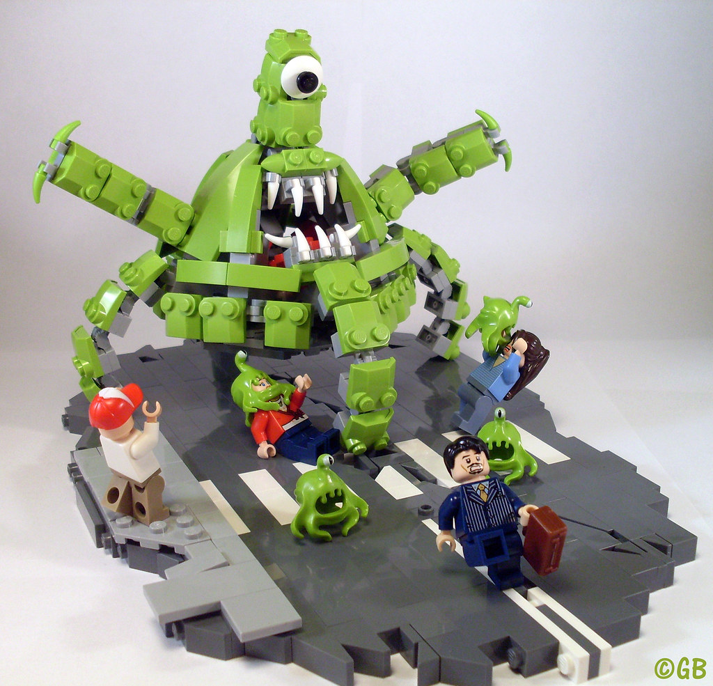 Attack of the Aliens!   Gabriel   Flickr Cowboys And Aliens Alien Ship