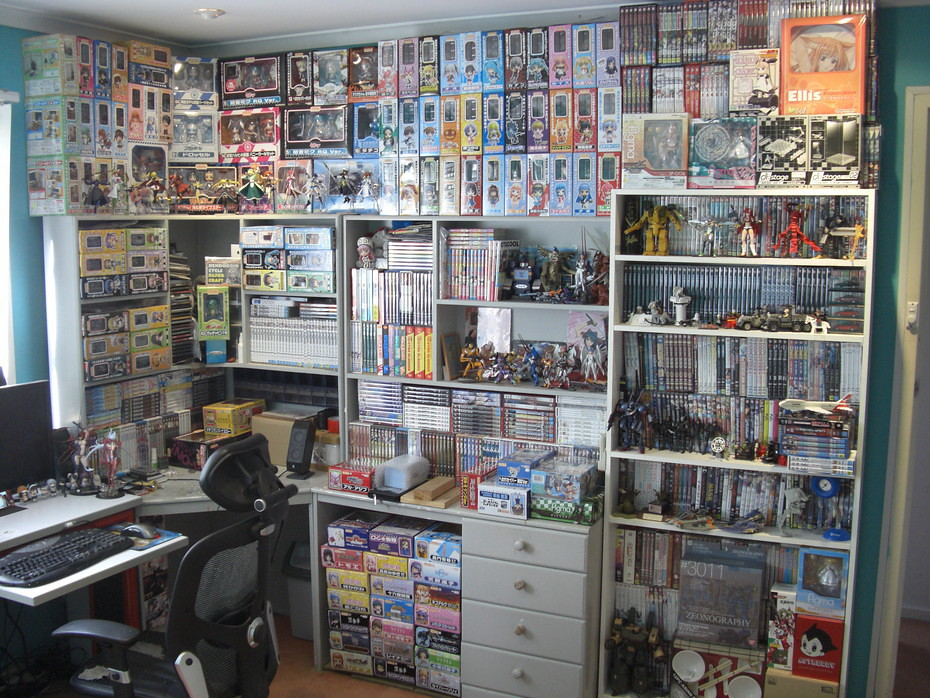 Otaku Room - Before and After | If there is anything I ...