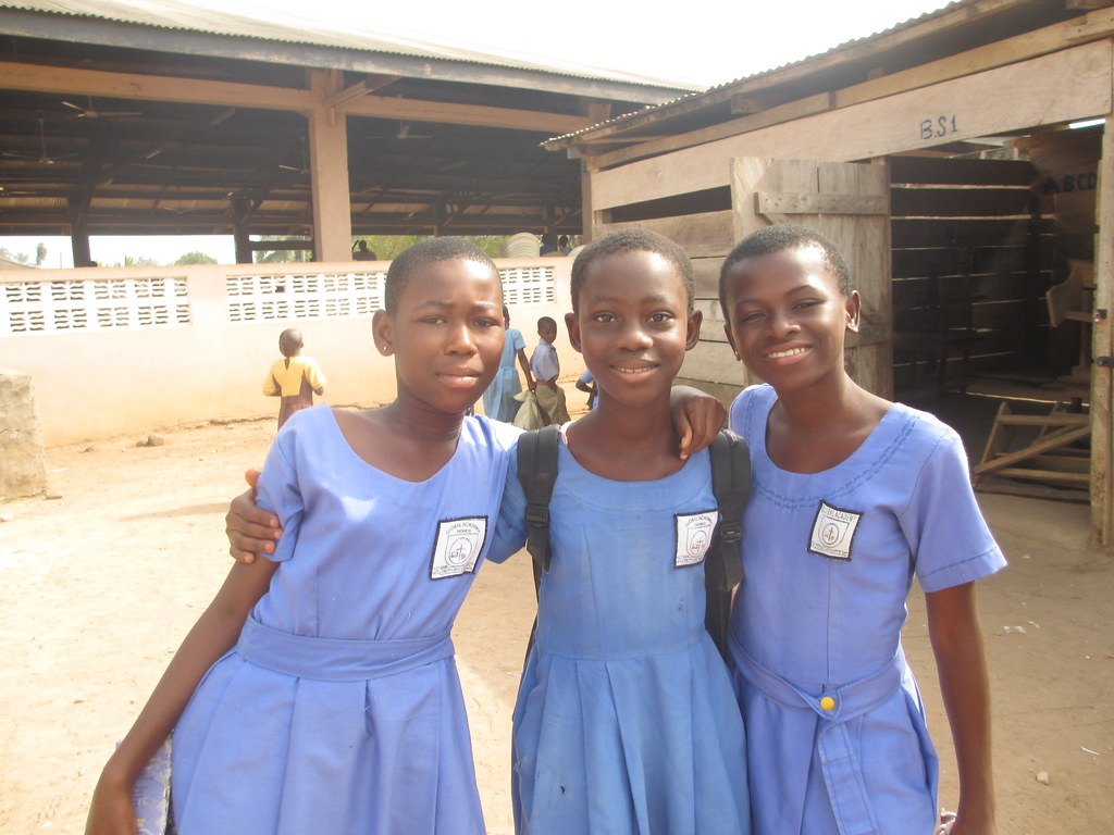 Last Days In Ghana 005 Girls From Global Academy Flickr