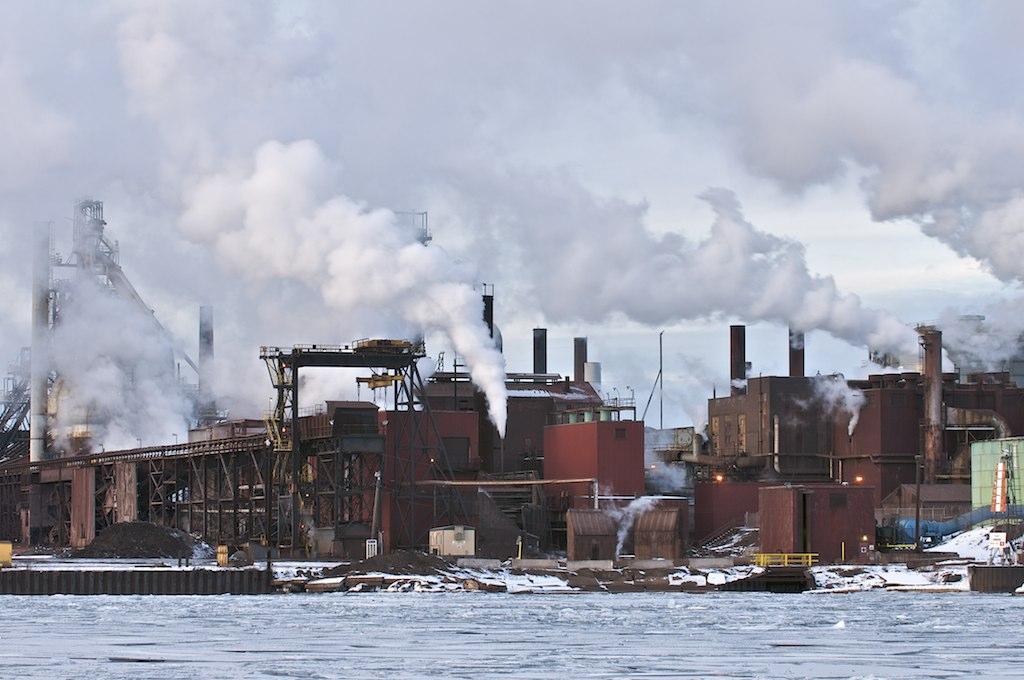 Number 7 Blast Furnace : Essar steel algoma sault ste marie ontario number six
