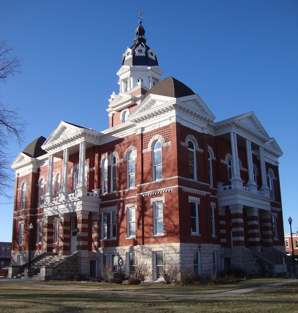 Johnson County Courthouse Tecumseh Nebraska Flickr Photo Sharing
