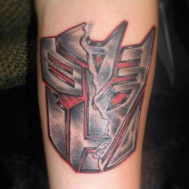 Transformers Tattoos Designs Ideas And Meaning: #transformers #tattoo #tattoos #robots #male #arm #bronx