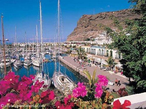 Gran canaria puerto de mog n d as recargapilas en mog n flickr - Puerto mogan gran canaria ...