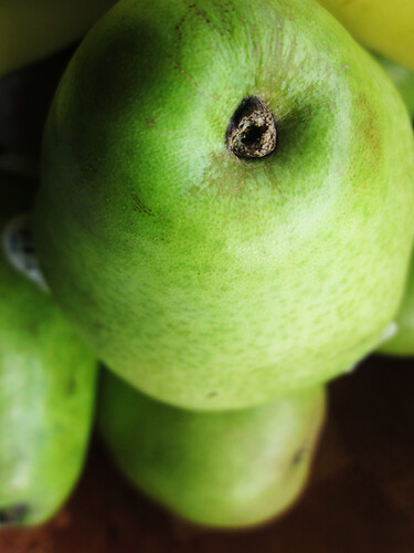 pear close up | by lizziemoch
