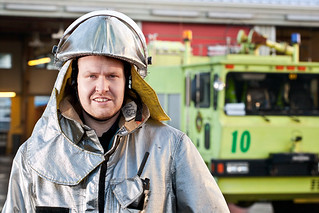 Fireman at Reykjavik airport. | by Flubbi