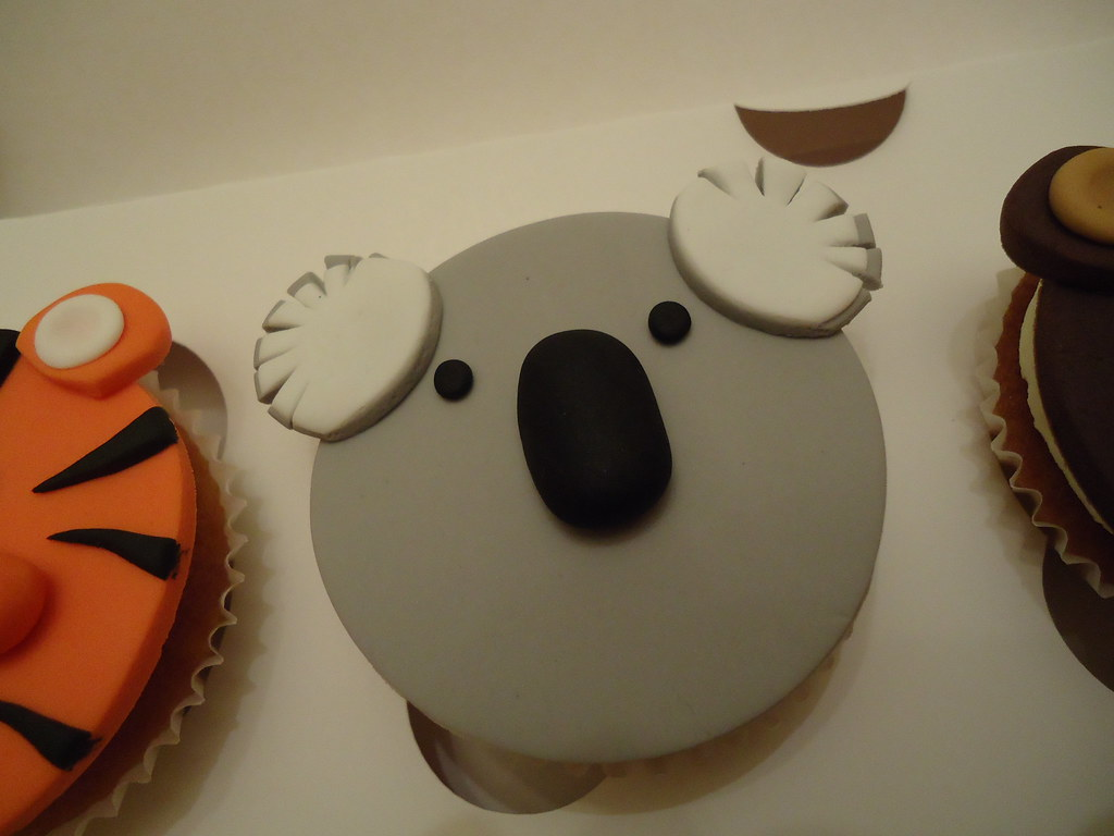 Cupcakes de Koala Koala Bear Cupcake Topper