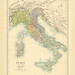 Map page of Section LXV Italy c 1060-1167 from Part XXVII of Historical atlas of modern Europe from the decline of the Roman empire : comprising also maps of parts of Asia and of the New world connected with European history