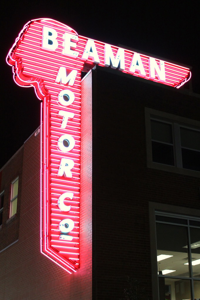 Beaman Motors New Neon Sign 2012 For Decades This