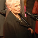 Dame Judi Dench being interviewed at The Best Exotic Marigold world premiere @ Curzon Mayfair, London 7 February 2012