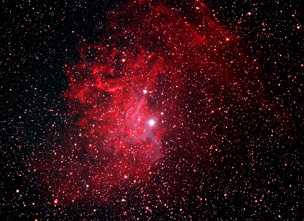 IC 405 - The Flaming Star Nebula | IC 405 (also known as ...