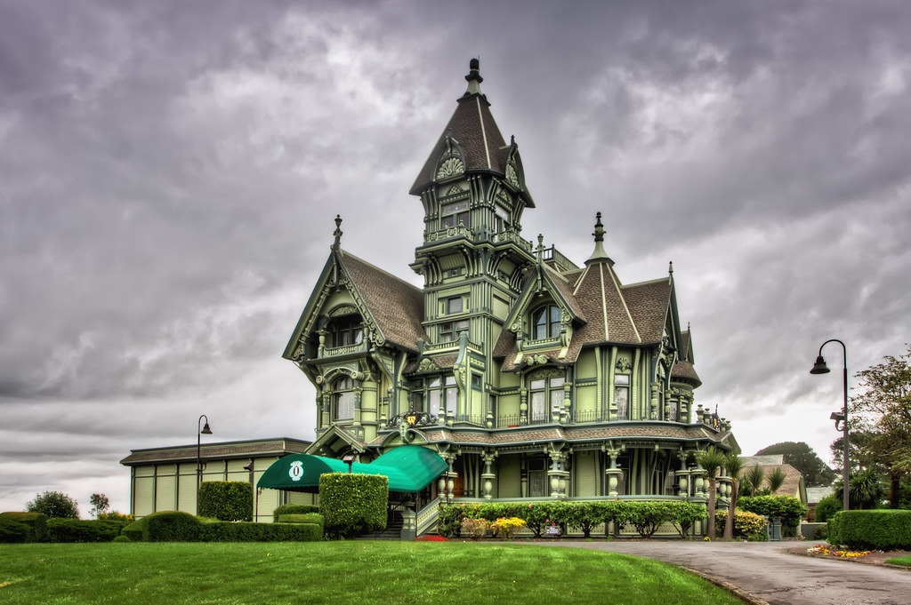Carson Mansion | The Carson Mansion is a large Victorian