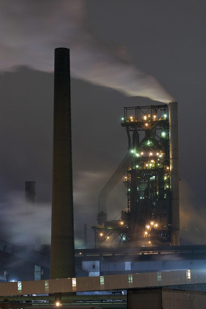 Number 7 Blast Furnace : Essar steel algoma sault ste marie ontario number
