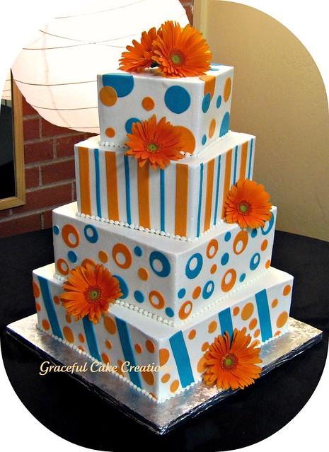 Daisy Wedding Cake Decorations