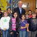 Rep. McNerney with students participating in the Holiday Cards for Our Troops program at Lakewood Elementary.