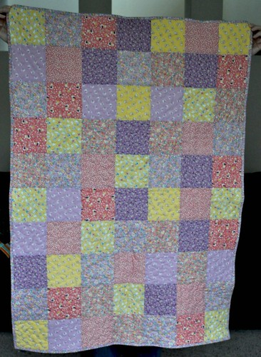finished charity quilt | by vickivictoria