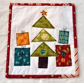 mini quilt for SMS giveaway day | by vickivictoria
