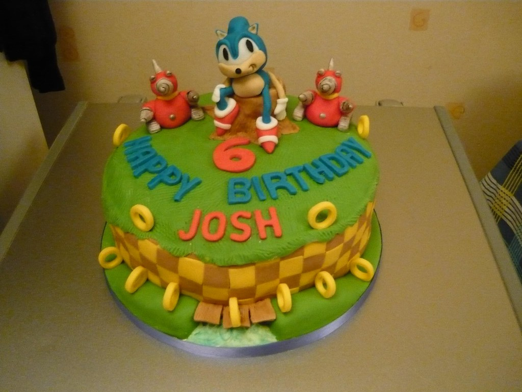 Sonic The Hedgehog Cake Pan