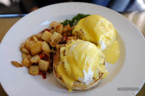 #Lunch time~ Egg Benedict | by RayStudio