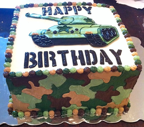 Military Birthday Cake Pictures