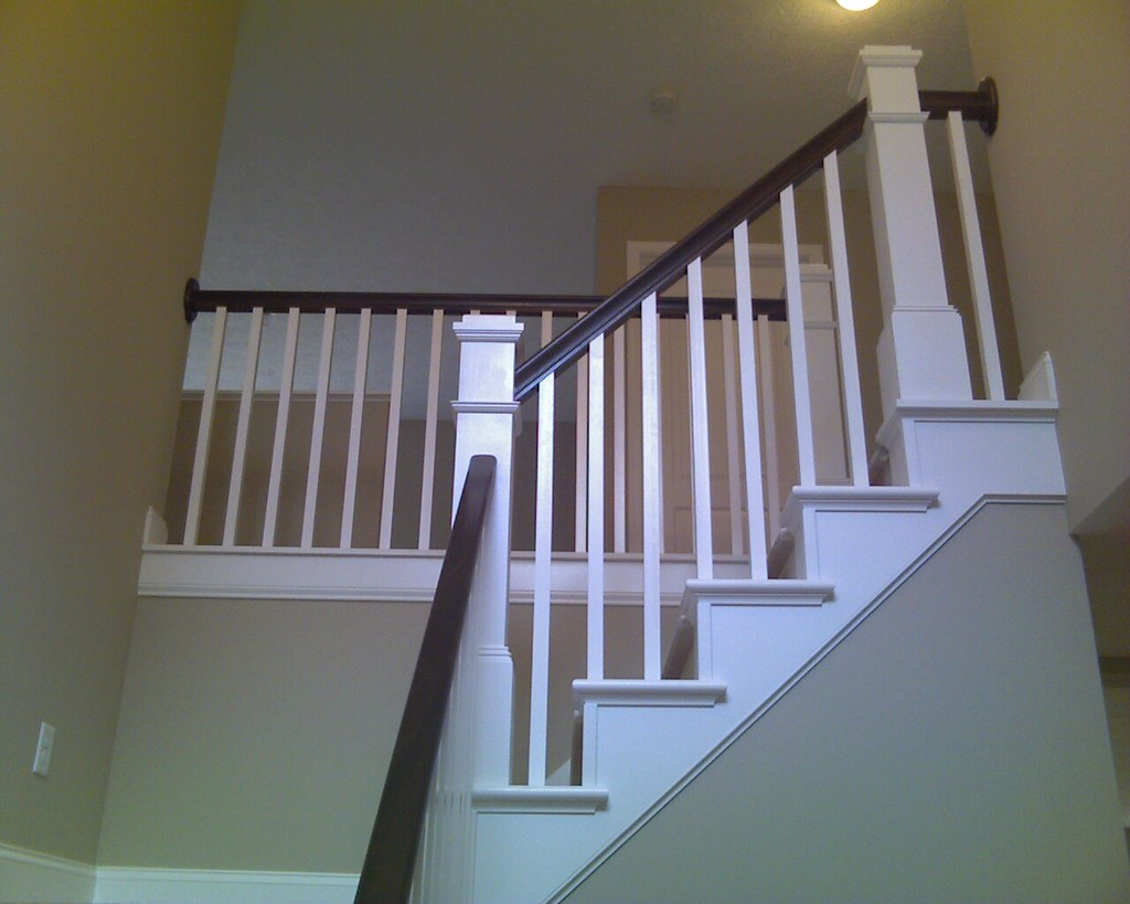Craftsman Style Open Staircase | Wayne Homes | Flickr
