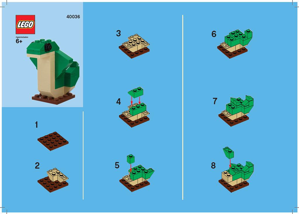 Lego Sign Up Mini Build