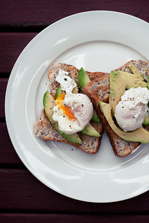 Poached Eggs + Avocado on Toast | by alanabread