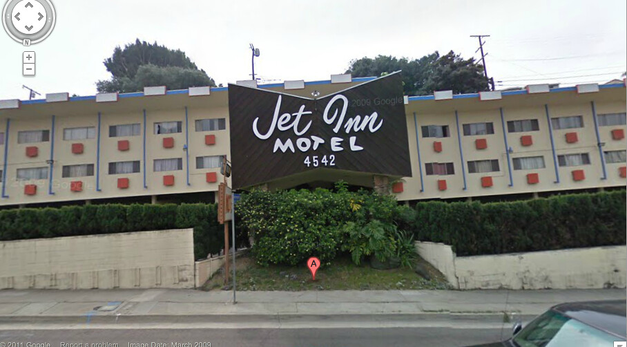 He jet inn motor hotel at 4542 w slauson ave still there for Motor hotel los angeles