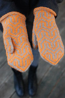 Mod Mittens 2 | by throughtheloops
