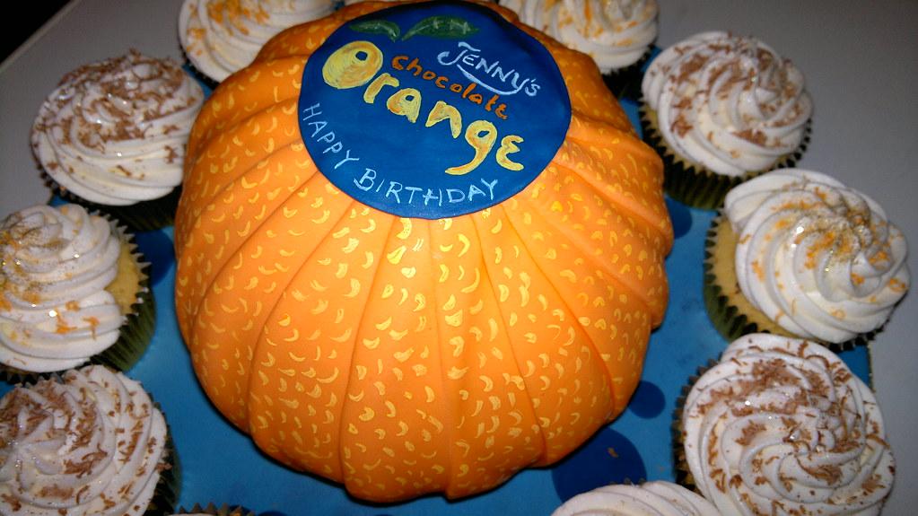 Fluffy Chocolate Orange Cake