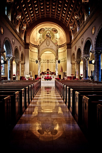Basilica of St. John Des Moines, Iowa  Flickr - Photo ...