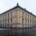 Berlin Altes Museum 1830; Rück- und Seitenansicht