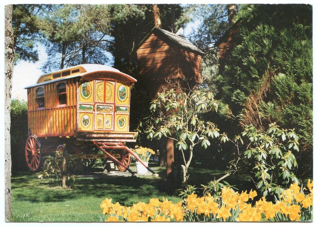 The Gypsy Caravan at Sandford Holiday Park, Poole, Dorset ...