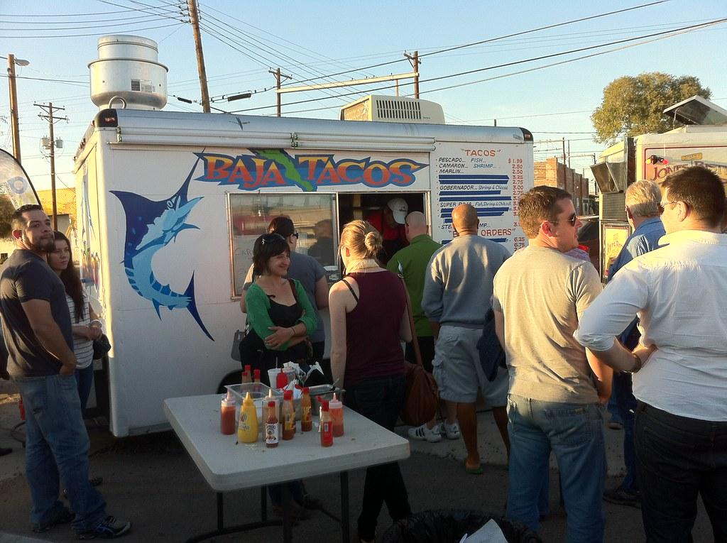 Baja Food Truck Menu