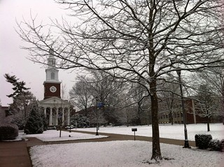 Snow falls on UK | by University of Kentucky