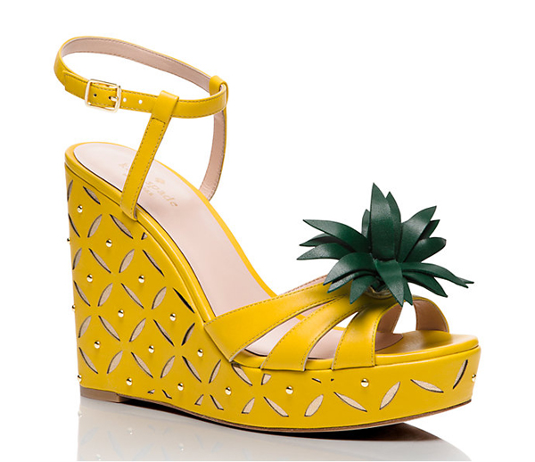 kate spade pineapple wedges